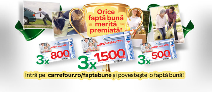 Carrefour Romania cover