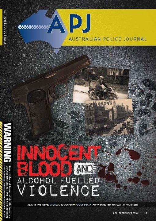 Australian Police Journal cover
