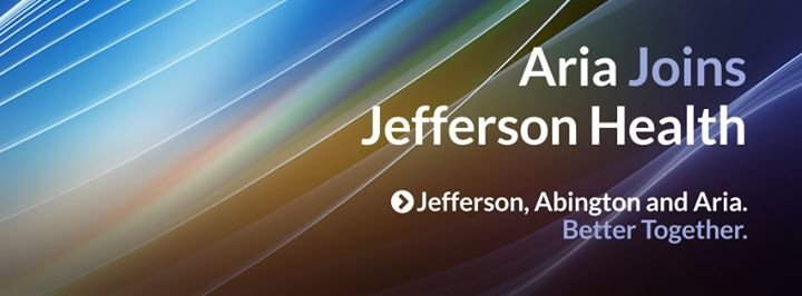 Aria - Jefferson Health cover