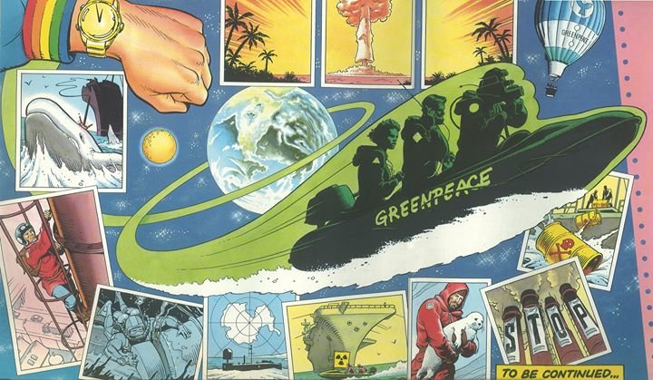 Greenpeace International Video Desk cover