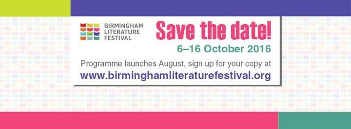 Birmingham Literature Festival cover