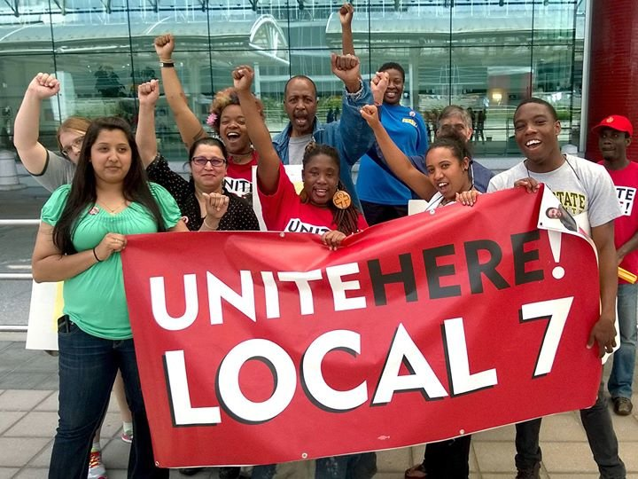 Unite Here Local 7 cover