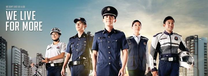Singapore Police Force - Recruitment cover