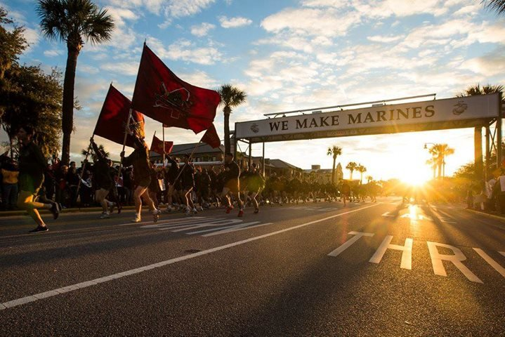 MCRD PARRIS ISLAND, SC - OFFICIAL PAGE cover