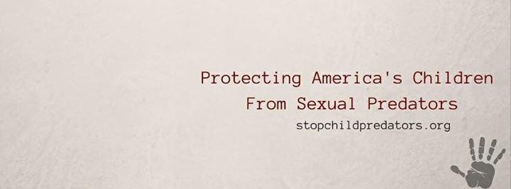 Stop Child Predators cover