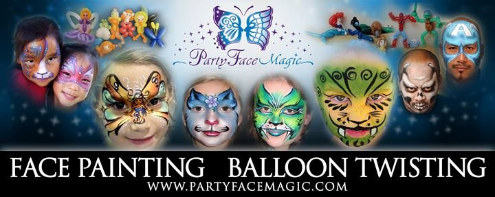 Party Face Magic - Face Painting Orange County & Los Angeles cover