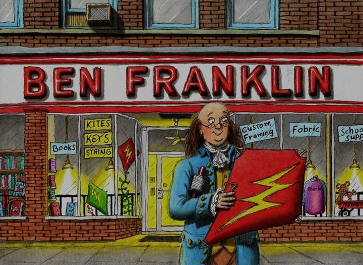 Ben Franklin & MindFair Books cover
