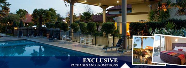Regal Palms Resort Rotorua cover