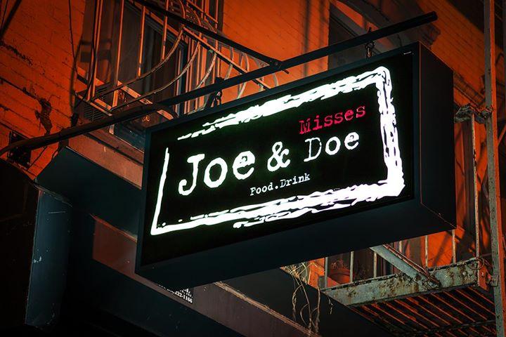 Joe & Misses Doe cover