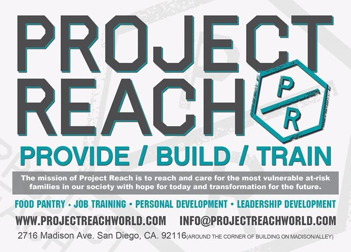 Project Reach cover