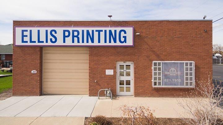 Ellis Printing cover