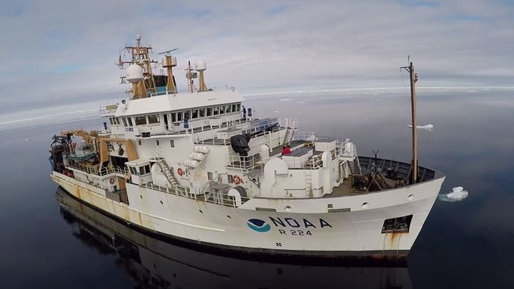 NOAA Ship Oscar Dyson cover
