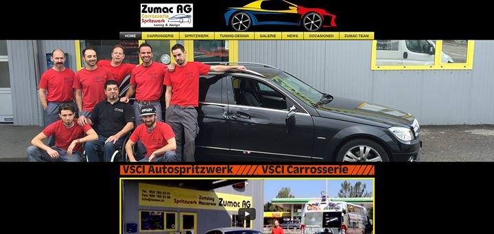 Zumac AG Carrosserie Spritzwerk tuning & design cover