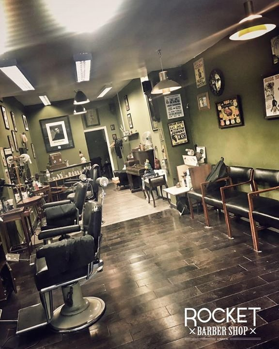 Rocket Barber Shop cover