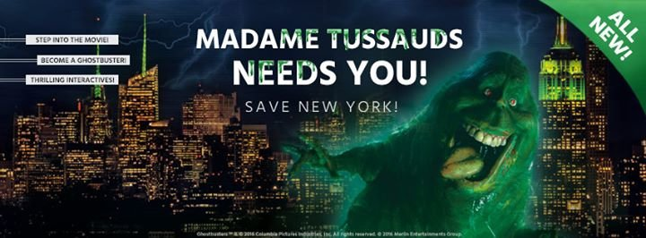Madame Tussauds New York cover