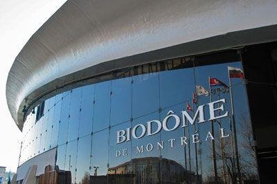 The Montreal Biodome cover