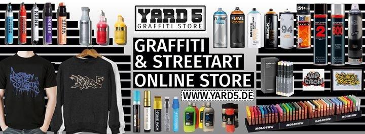 YARD5 Graffiti SHOP Berlin cover