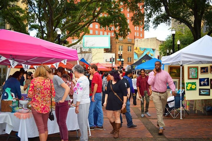 Downtown Jacksonville Art Walk cover