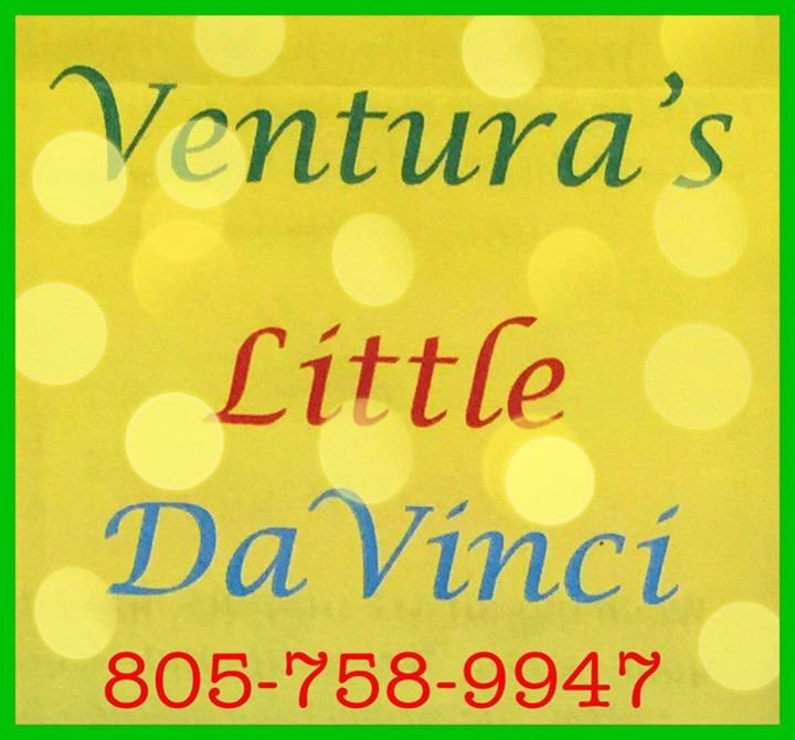 Ventura's Little Da Vinci cover