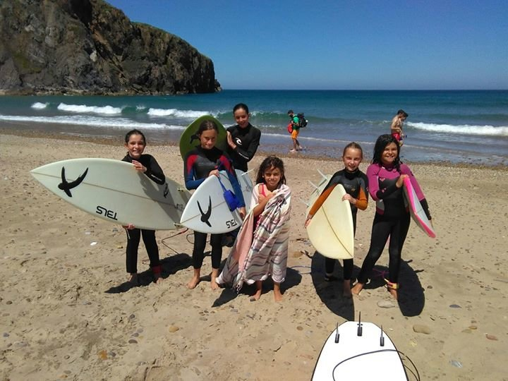 Tablas Surf School cover