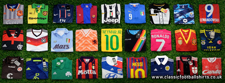 Classic Football Shirts cover