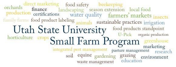 Utah State University Small Farm Program cover