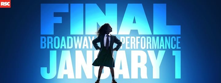 Matilda The Musical on Broadway cover