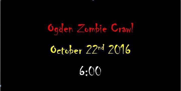 Ogden Zombie Crawl cover