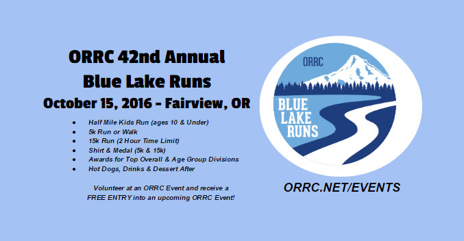 Oregon Road Runners Club cover