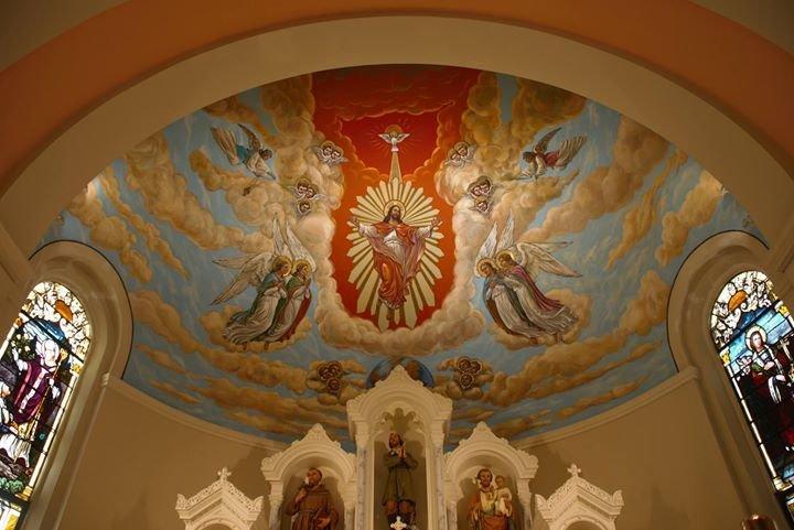 St. Isidore Church, Riverhead cover
