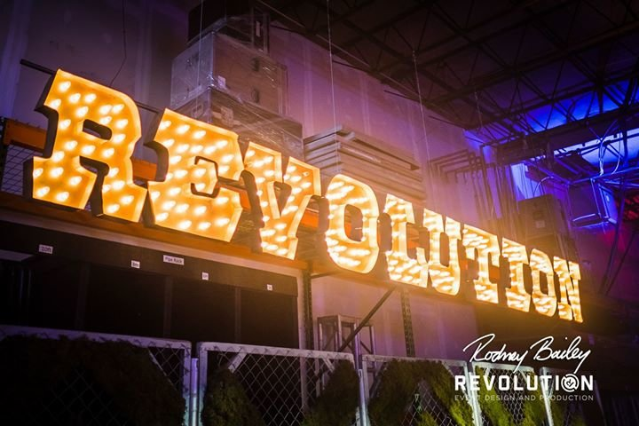 Revolution Event Design and Production cover