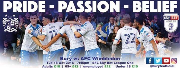 Bury Football Club cover