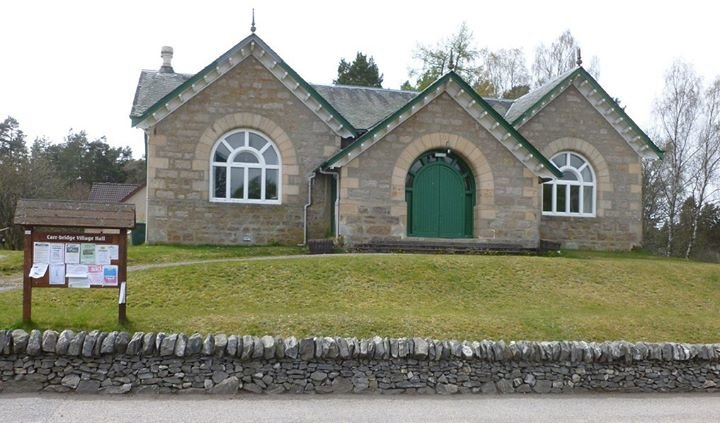 Carrbridge Village Hall cover