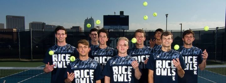 Rice Men's Tennis cover