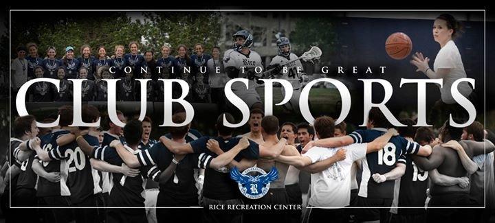 Rice University Club Sports cover