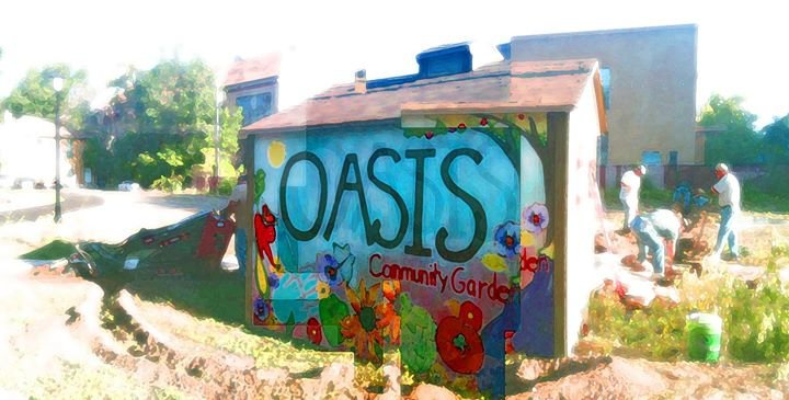 Oasis Community Garden cover