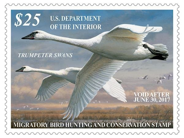 USFWS_Federal Duck Stamp cover