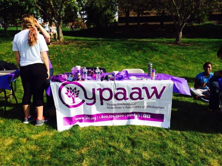 Young Professional Alzheimer's Advocates of Washtenaw County - YPAAW cover
