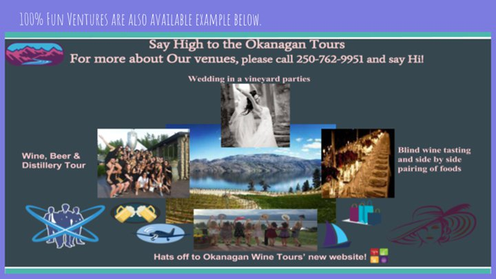 Say High to Okanagan Tours & Club Wine Tours cover