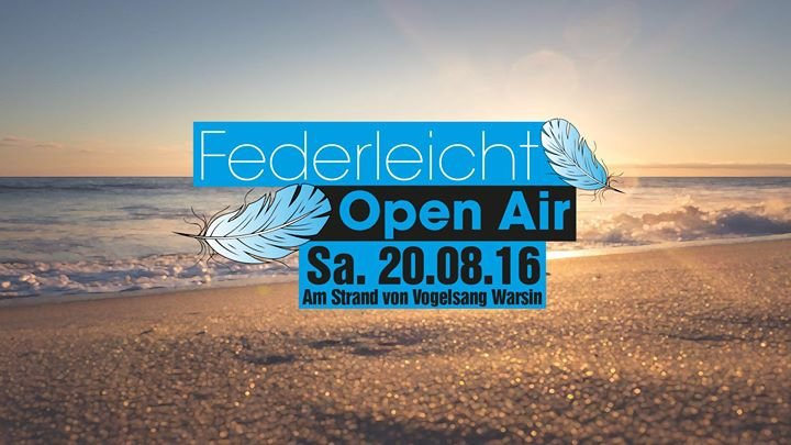 Federleicht Open Air cover