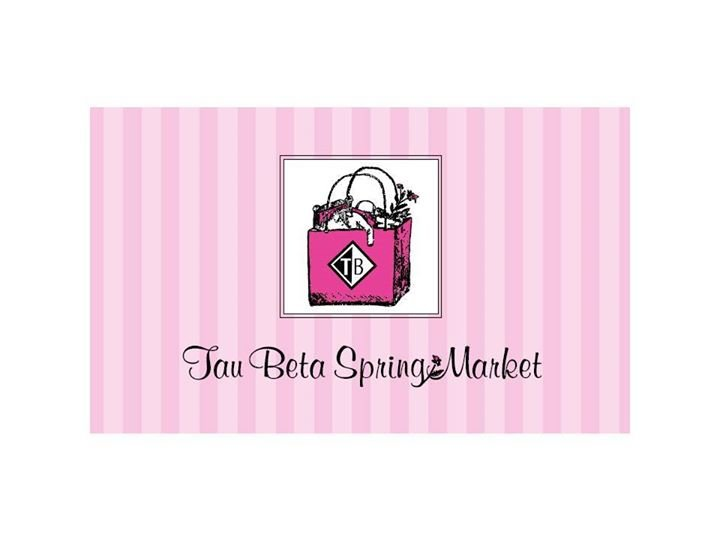 Spring Market--Tau Beta Association cover