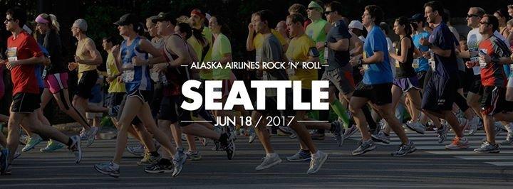 Rock 'n' Roll Seattle Marathon & 1/2 Marathon cover