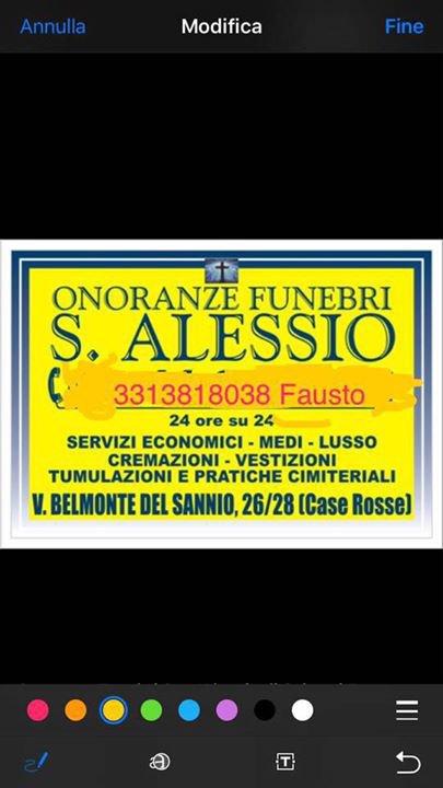 ONORANZE FUNEBRI ROSATI & S.ALESSIO  cover