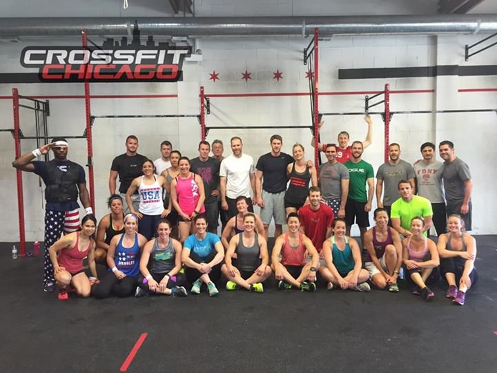 Crossfit Chicago cover