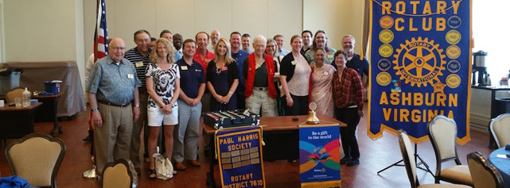 The Rotary Club of Ashburn, VA cover