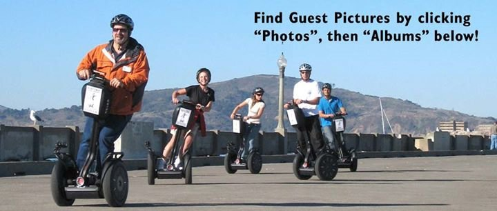 Electric Tour Company: San Francisco Wharf & Golden Gate Park Segway Tours cover