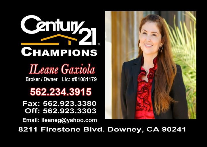 ILeane Gaxiola Broker at Century 21 Champions cover