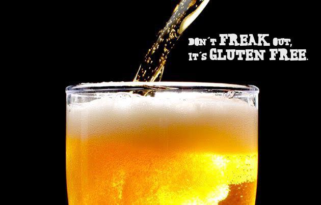 No Freaking Gluten Beer cover