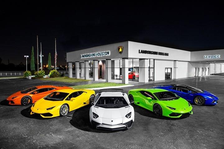 Lamborghini Houston cover
