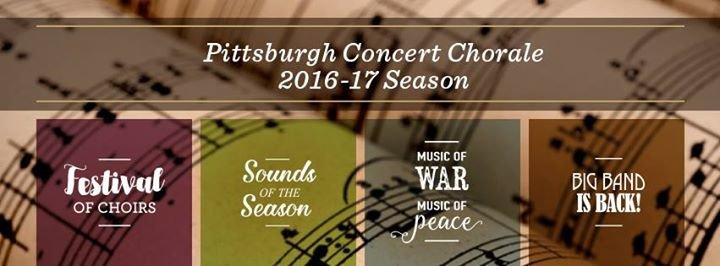 Pittsburgh Concert Chorale cover